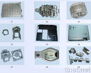 Parts Samples for Die Casting Molds