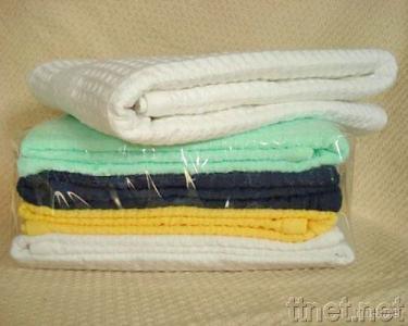 Handwoven 100% Organic Cotton Blanket (21S/2 Yarn)