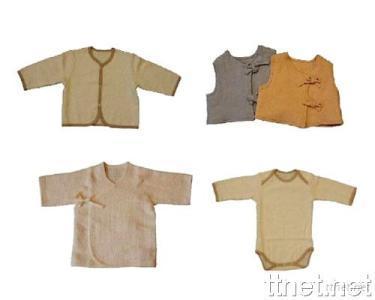 Handwoven Organic Cotton Babywear