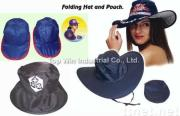 Promotional Pop Up Foldable Cap / Hat