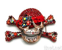 Fashion Belts Skull Buckles