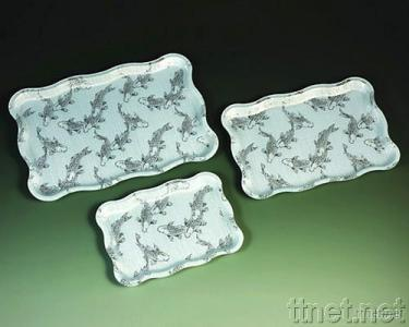 Rectangle Wave Tray