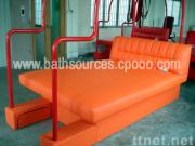 Red sexual bed