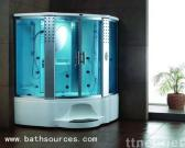 Steam Shower Room Cabin Cubicle with Multifunction
