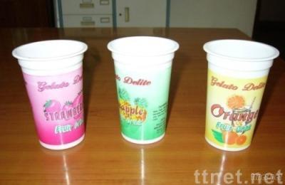 Disposable Yogurt Plastic Cups
