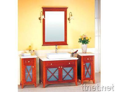 Bathroom Vanity Cabinet Furniture with Granite Counters Top