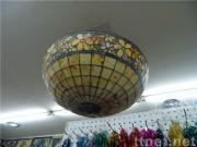 Natural agate pendant lamp craft
