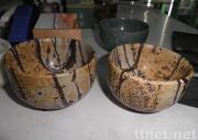 Natural Picture Jasper Bowl Crafts for Home Decoration