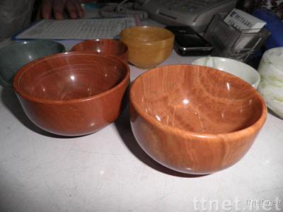 Wood Grain Jasper Bowl Art Work for Home Decoration