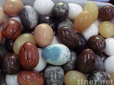 Natural stone egg shape gift