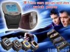 the smallest pinhole 2.0M camera quadband watch mobile phone 007