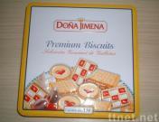 De doos van het Tin van het Koekje van het koekje