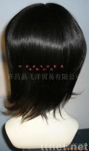 hand tied wig by 100% remy Human Hair, wig,hair piece