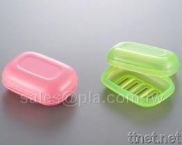 [بلا] (مادّة قابل للتفسّخ حيويّا) صابون صندوق