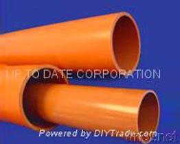 UPVCまたはCPVCの電気ケーブルの管