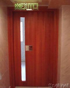 BS Fire Proof Solid Wood Door