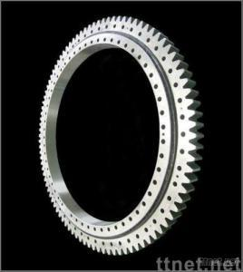 Double-row ball slewing ring