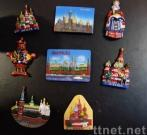 Polyresin Moscow Fridge Magnet
