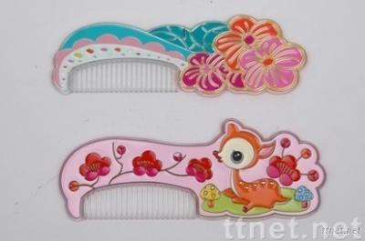 Fashion Comb with Mirror