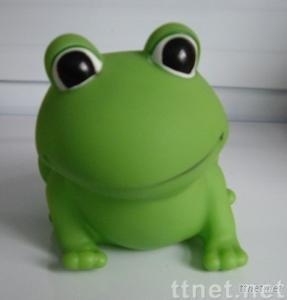 Soft PVC Toy, Rubber Frog