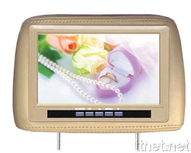 9-Inch Headrest Monitor with Pillow