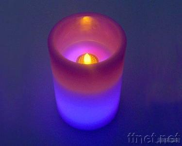 Flameless Flickering Candle & MP3 Player