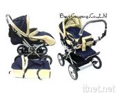 Stroller W/Detachable Bassinette & Foot Cover