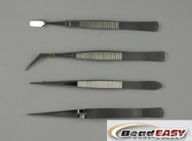4 pcs Tweezers Set