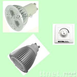 Dimmable MR16-GU10 LED lamp