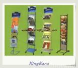 De Rekken van de Vertoning van het Tijdschrift van het Ijzer van KingKara
