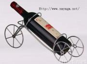 Het Rek van de Wijn van het Metaal van de Lijst van de Stijl van de Fiets van Kingkara in Zilverachtig Wit eindigt (ym-Jj-05)