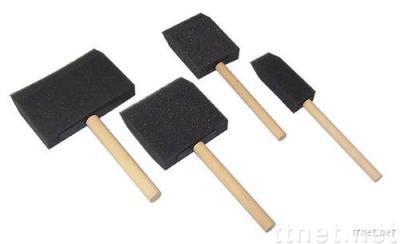 Foam Brush-wooden Handle