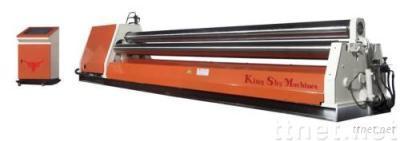 CNC Three Rolls Plate Bending Machine