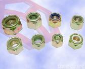 Hex Flange Nylon Insert Locking Nut