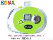 novelty toys of LCD Mini camera(300thousand pixel)