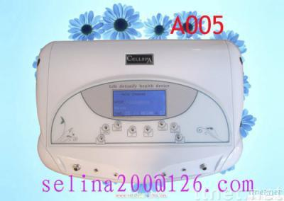 dual cell spa with far infrared belt  ionic cleanse foot detox