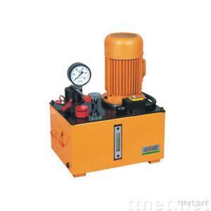 Ultra-pressure electric oil pump station