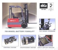 Carretilla elevadora FBT15-18 de la batería