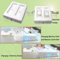 Wii 이중 감응작용 충전기