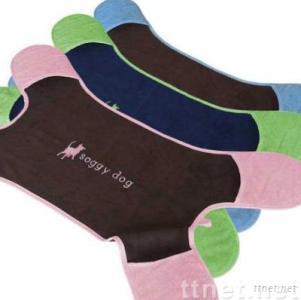 china dog towel/pet towel