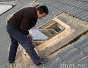 Wooden Roof Window
