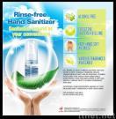 Het spoeling-vrije Desinfecterende middel van de Hand