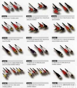 AV Cable,RCA Cable,Audio & Video Cables