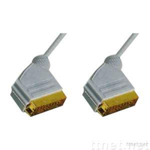 Scart Cable,Scart Cables,21 Pin Scart Cable,RGB Scart Cable