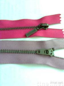 black nickel zipper ,metal zipper