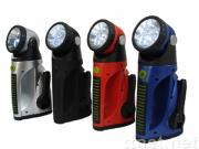5LED super crank daynamo flashlight