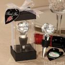 Vineyard Collection™ Crystal Ball Design Wine Stoppers