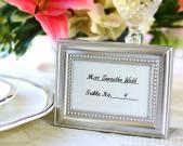 Beautifully Beaded Photo Frame and Placeholder
