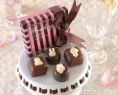 bougies de chocolat