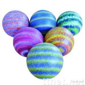 Saturn Pattern Foam Ball